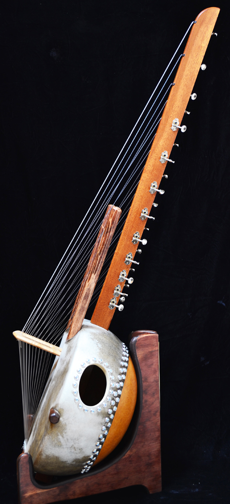 Kora Instrument for sale buy in Stand